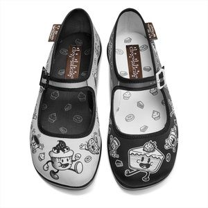 🆕Chocolaticas Cartoon Mary Jane Flats